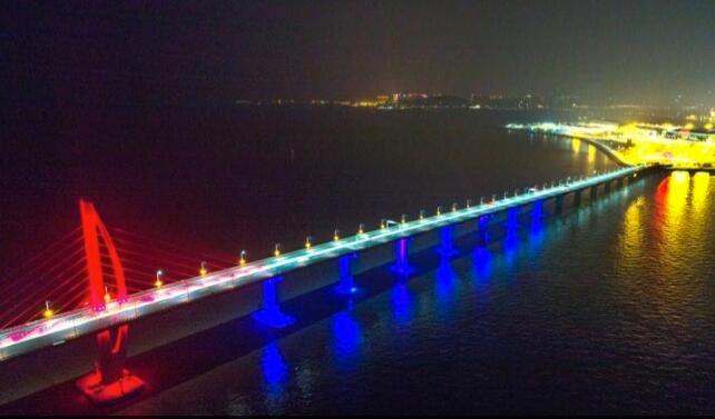 港珠澳大桥采用陕西中泽气体龙8手机app龙八官方网站