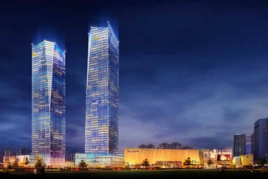 西安龙八官方网站-西安绿地中心双